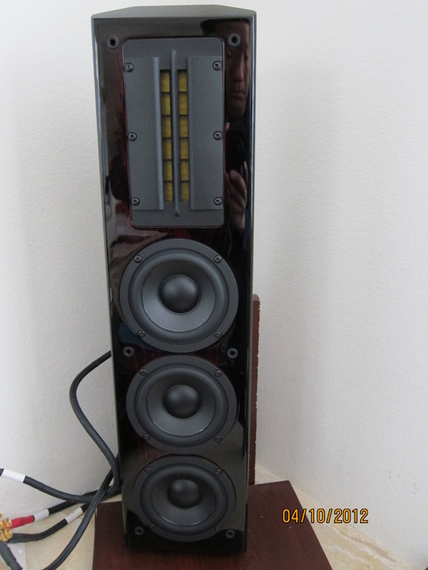 Sunfire CRS-3 Cinema Ribbon Trio speakers