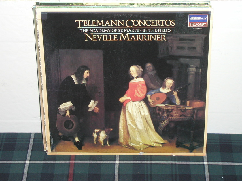 Marriner/AoStMitF - Telemann Ctos. London STS 155874