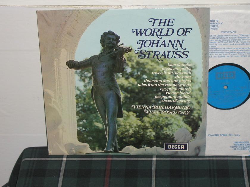 Boskovsky/VPO - Strauss UK/Decca stereo