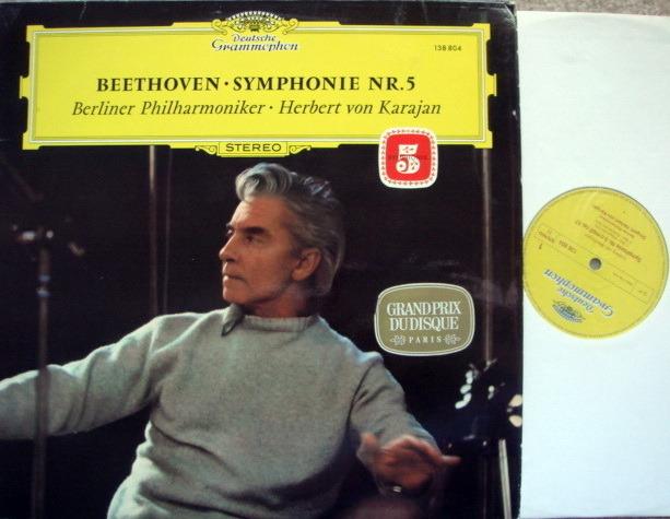 DG / KARAJAN-BPO, - Beethoven Symphony No.5 NM!