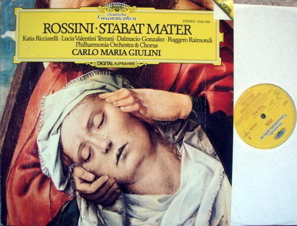 DG Digital / GIULINI-PO, - Rossini Stabat Mater, NM!