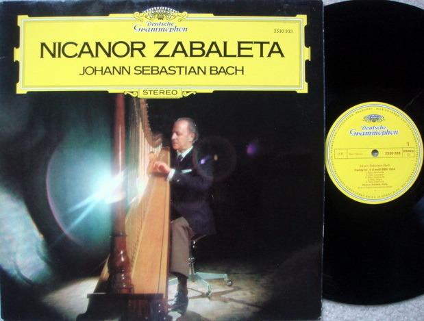 DG / ZABALETA, - Bach Partitas, NM!