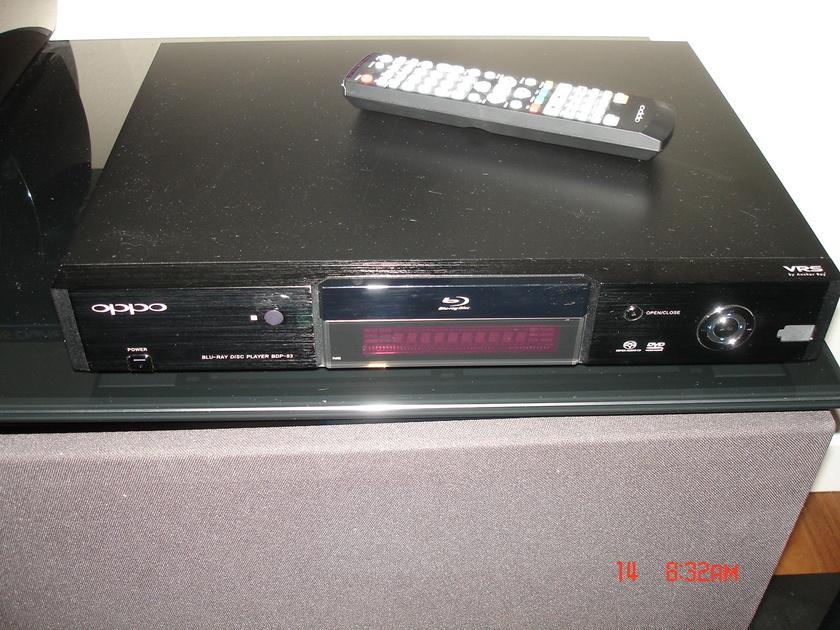 OPPO BDP-83 Blu-Ray