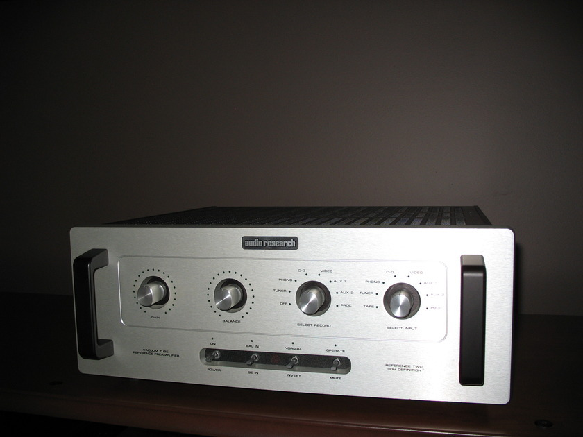 Audio Research Reference 2 MKII Tube Preamp