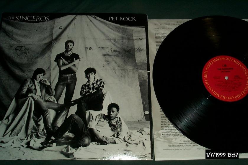 The Sinceros - Pet Rock CX Encoded LP NM