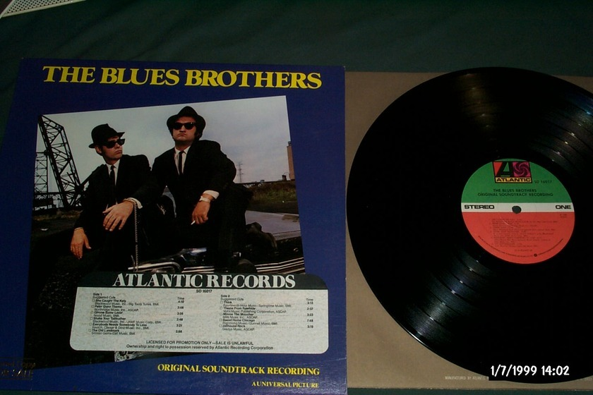 The Blues Brothers - Original Soundtrack Recording Promo LP NM