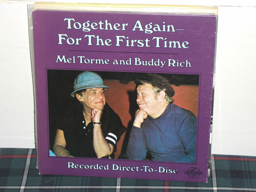 Mel Torme/Buddy Rich  -  Together For The First Time  Century Direct To Disc.CRDD-1100