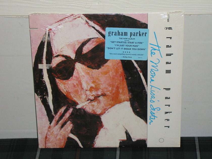 Graham Parker  - The Mona Lisa's Sister LP   Still SEALED/NEW.BMG 8316-1. From 1988.