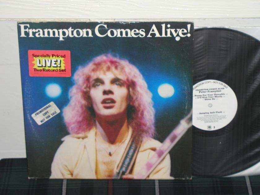 Peter Frampton  - Frampton Comes Alive 2LP A&M White Label Promo