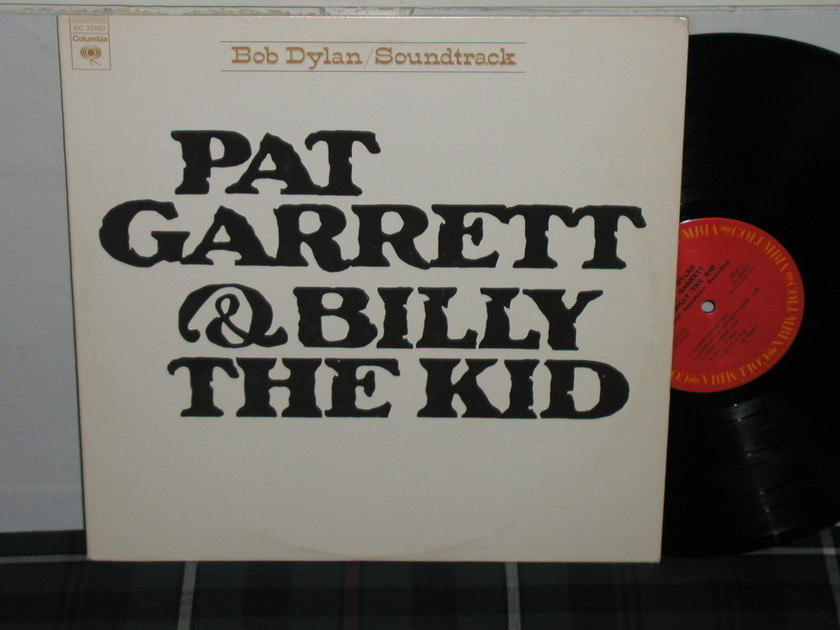 Bob Dylan - Pat Garrett/Billy Kid Embossed cover first press