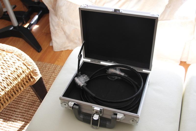 Stereovox SEI 600 II 1m RCA exc. condition, orig. case