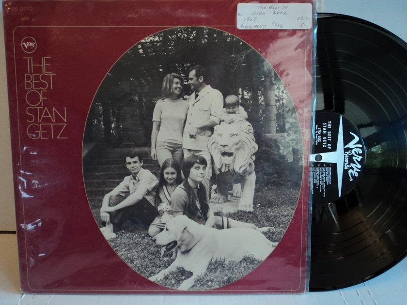 Stan Getz  - The Best of Stan Getz 1967 Verve V6-8719