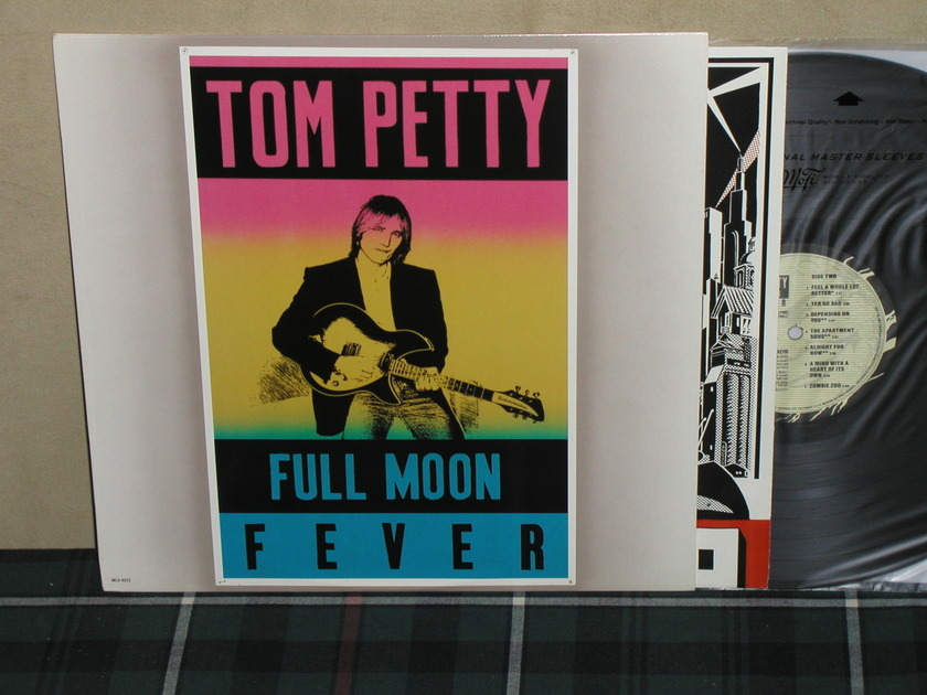 Tom Petty - Full Moon Fever w/ indian chief MCA-6253 MINT!