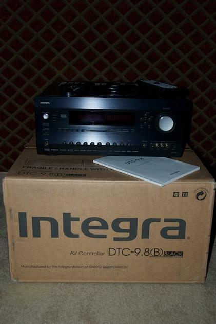 Integra DTC9.8 Preamp/Processor