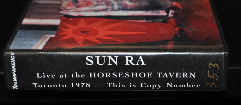 Sun Ra Live at the Horseshoe  - Tavern, Toronto 1978 10 CDs Essential Sun Ra! #353 of 540