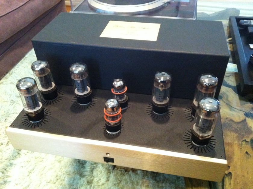 Golden Tube Audio GTA SE40 with all sonic craft upgrades