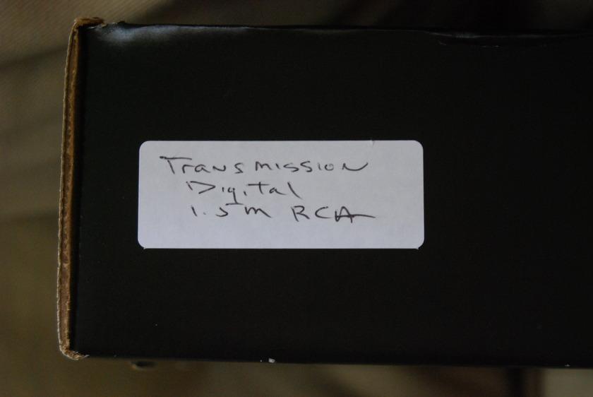 Nirvana  Transmission Digital 1.5M RCA