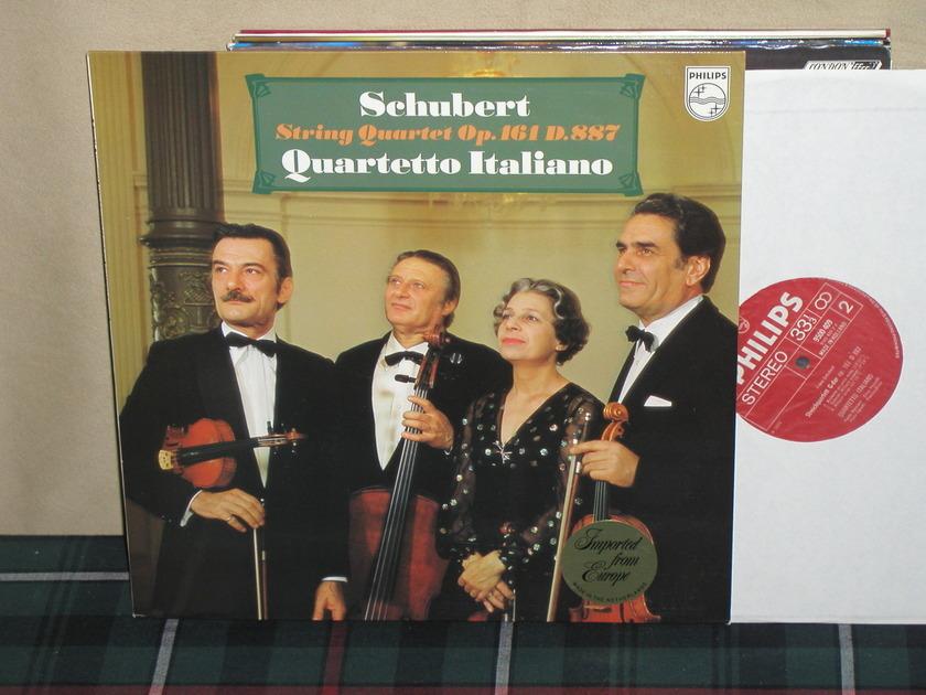 Quartetto Itialiano - Schubert String Quartet Philips Import LP 9500