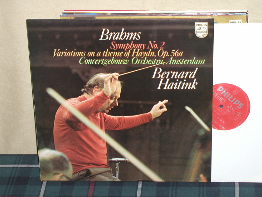 Haitink/COA - Brahms Sym.No.2 Philips Import LP 6500
