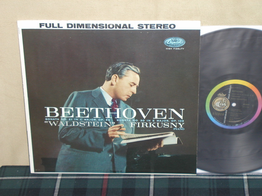 Rudolf Firkusny - Beethoven Sonatas Capitol SP8493 1st labels STEREO
