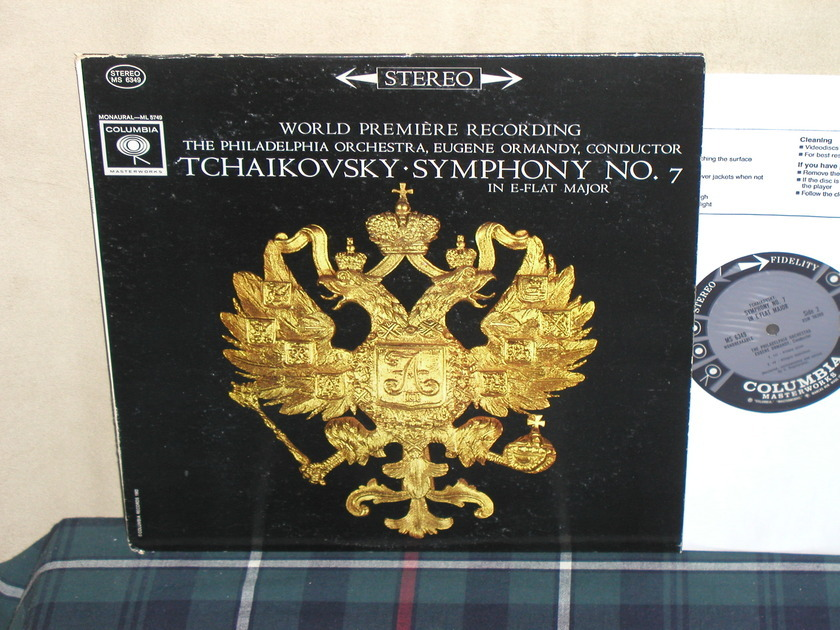 Ormandy/TPO - Tchaikovsky Sym.No.7 Columbia 6 eye STEREO
