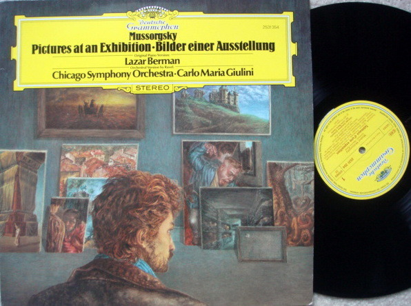 DG / BERMAN-GIULINI, - Mussorgsky Pictures at an Exhibition, NM!