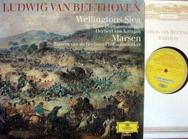 DG / KARAJAN-BPO, - Beethoven Wellington's Victory, NM!