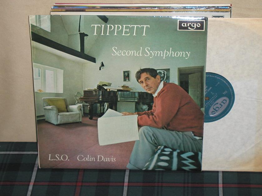 Davis/LSO - Tippett Second Symphony UK Argo/Decca ZRG-535