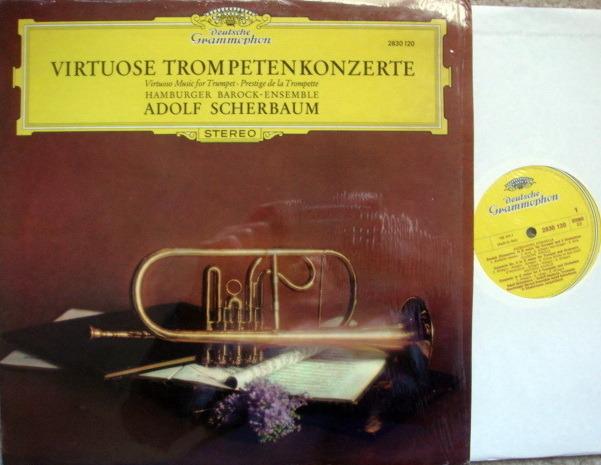 DG / SCHERBAUM, - Virtuoso Music for Trumpet, NM!
