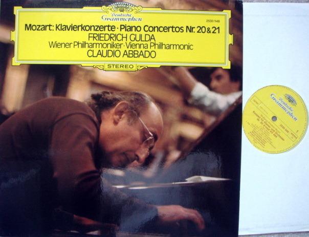 DG / GULDA-ABBADO, - Mozart Paino Concertos No.20 & 21, NM!