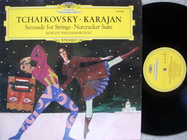 DG / KARAJAN-BPO, - Tchaikovsky Serenade for Strings, Nutcracker Suite,  NM!