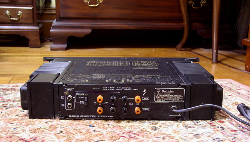 "Technics ""Professional Series"" Amplifier SE-9060  Rare"