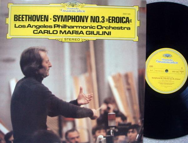 DG / GIULINI-LPO, - Beethoven Symphony No.3 Eroica, NM!
