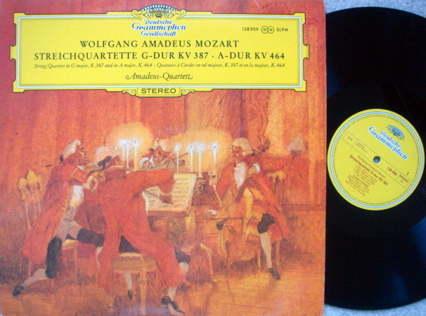 DGG / AMADEUS QT, - Mozart String Quartets KV.387 & 464, NM!
