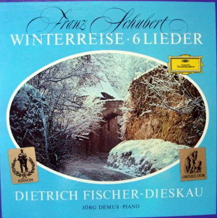DG / FISCHER-DIESKAU-DEMUS, - Schubert Winterreise, NM, 2LP Box Set!