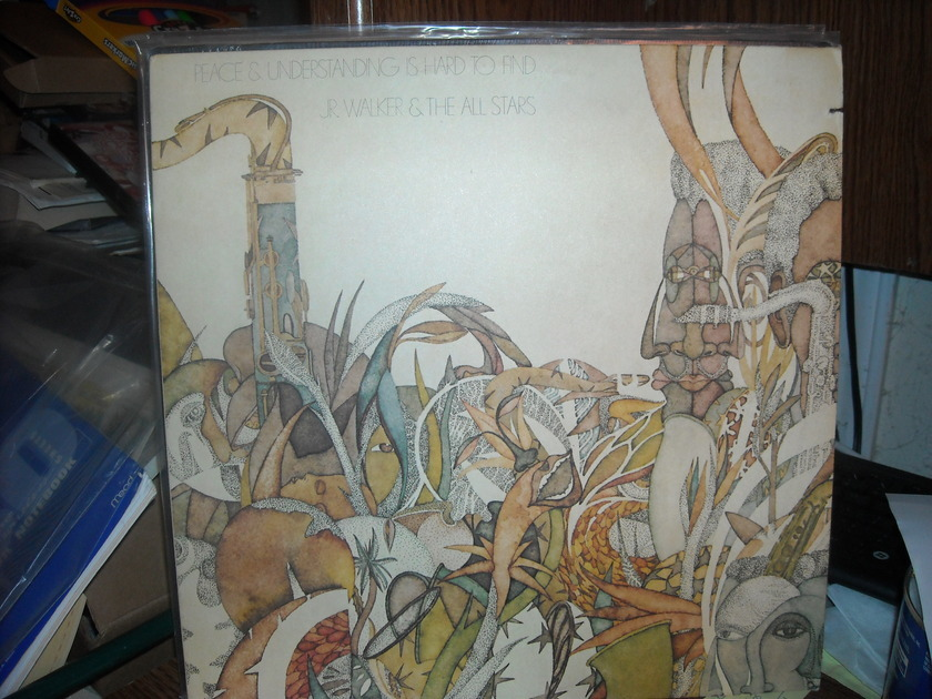 Jr. Walker & The All Stars - Peace & Understanding is Hare To Find  Soul  LP (c)