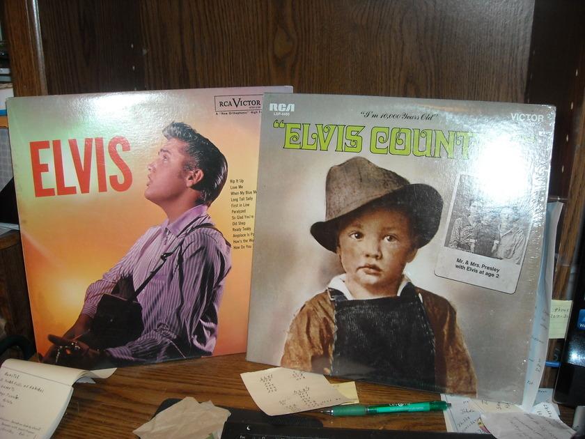 Elvis Presley - ELVIS RCA LP (c)