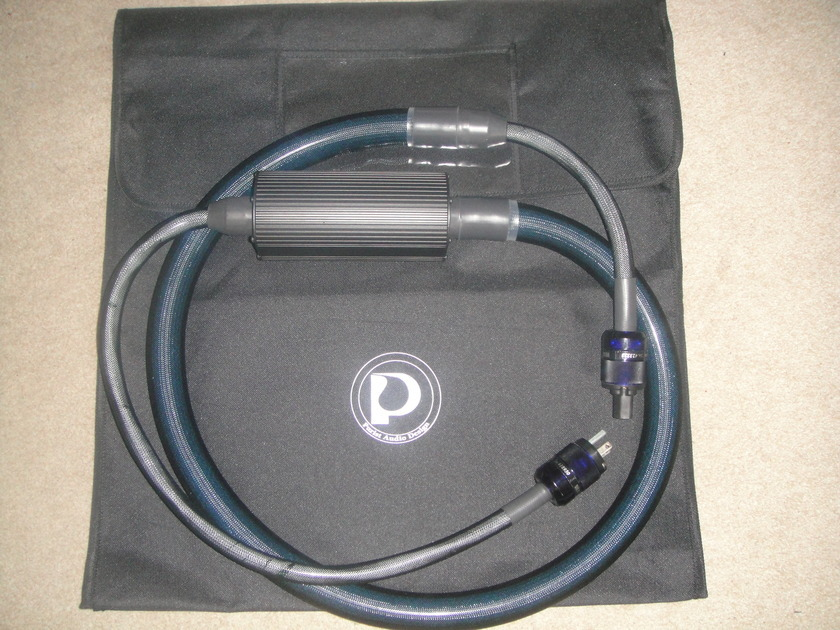 PURIST AUDIO DESIGNS  25th ANNIVERSARY POWER CABLE NEW