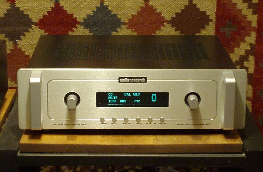 Audio Research LS27 silver