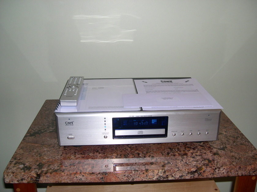 Cary  CD500 Demo