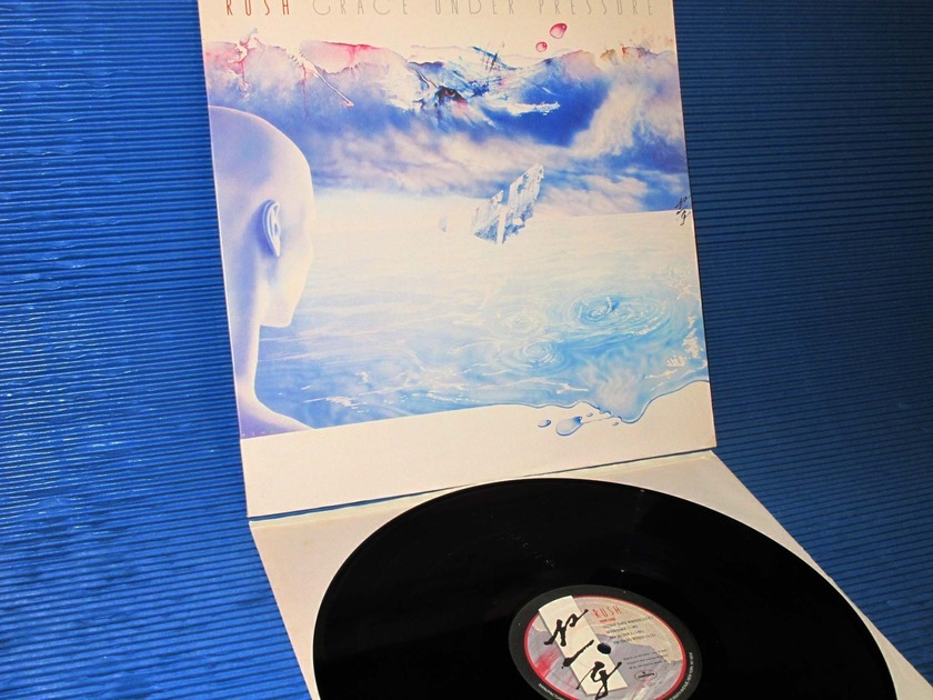 "RUSH -  - ""Grace Under Pressure"" -  Polygram 1984"