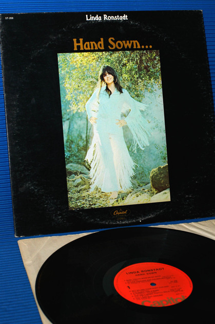 "LINDA RONSTADT - - ""Hand Sown,Home Grown"" -  Capitol 1971"