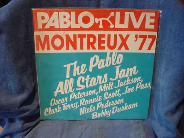 Pablo All Stars Jam - Montreux LIVE '77 pablo 2308-210 lp/usa