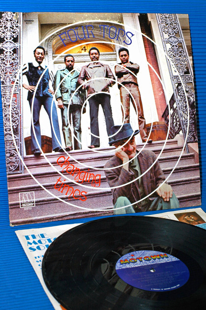 """THE FOUR TOPS -  - """"Changing Times"""" - Motown 1970 1st pressing"""