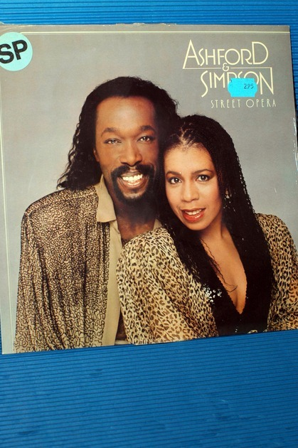 "ASHFORD & SIMPSON -  - ""Street Opera"" - EMI 1982 Dutch  Sealed"