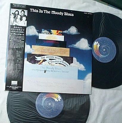 Moody Blues 2 LP set-This is Moody - Blues-rare Japanese album-mint vinyl
