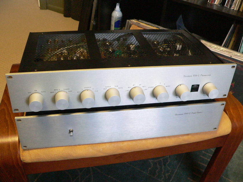 Beveridge RM-1/RM-2 Full Function Preamplifier V-Cap Teflon, M-Cap, DACT upgrade