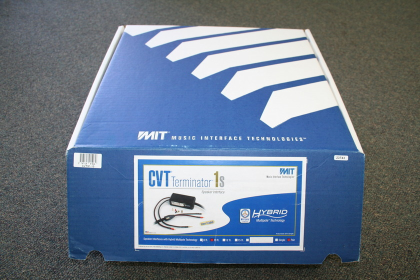 MIT  CVT Terminator 1s Speaker Cables 10' -- GORGEOUS -- (see pics)