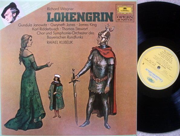DG / KUBELIK-JONES-KING, - Wagner Lohengrin Highlights, NM!