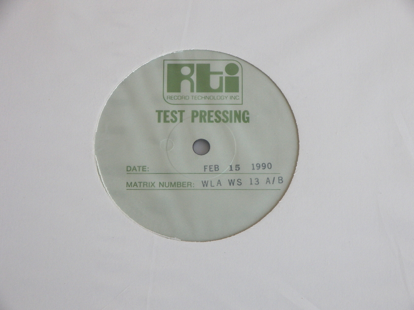 Waterlily Acoustic - Trumpet & Organ: Music of The Baroque Mint [Sealed] RTI test pressing [WLA-WS-13 A/B]
